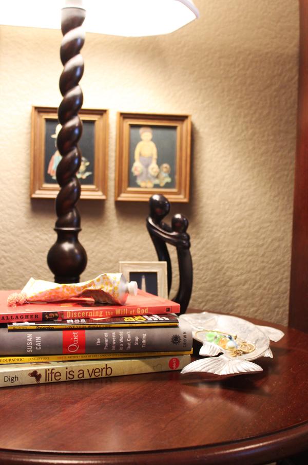 Teresa's Bedside Table